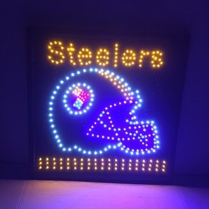 Pittsburgh Steelers LED frame Steelers light